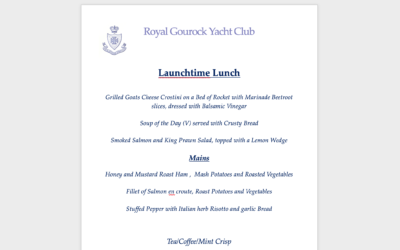 Scottish Launchtime Lunch